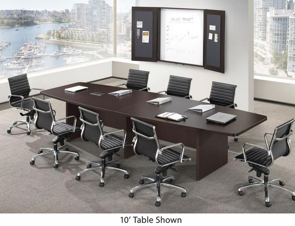 Boat Shape Conference Table W Slab Base 71 L Conference Table Conference Room Design Conference Room Decor