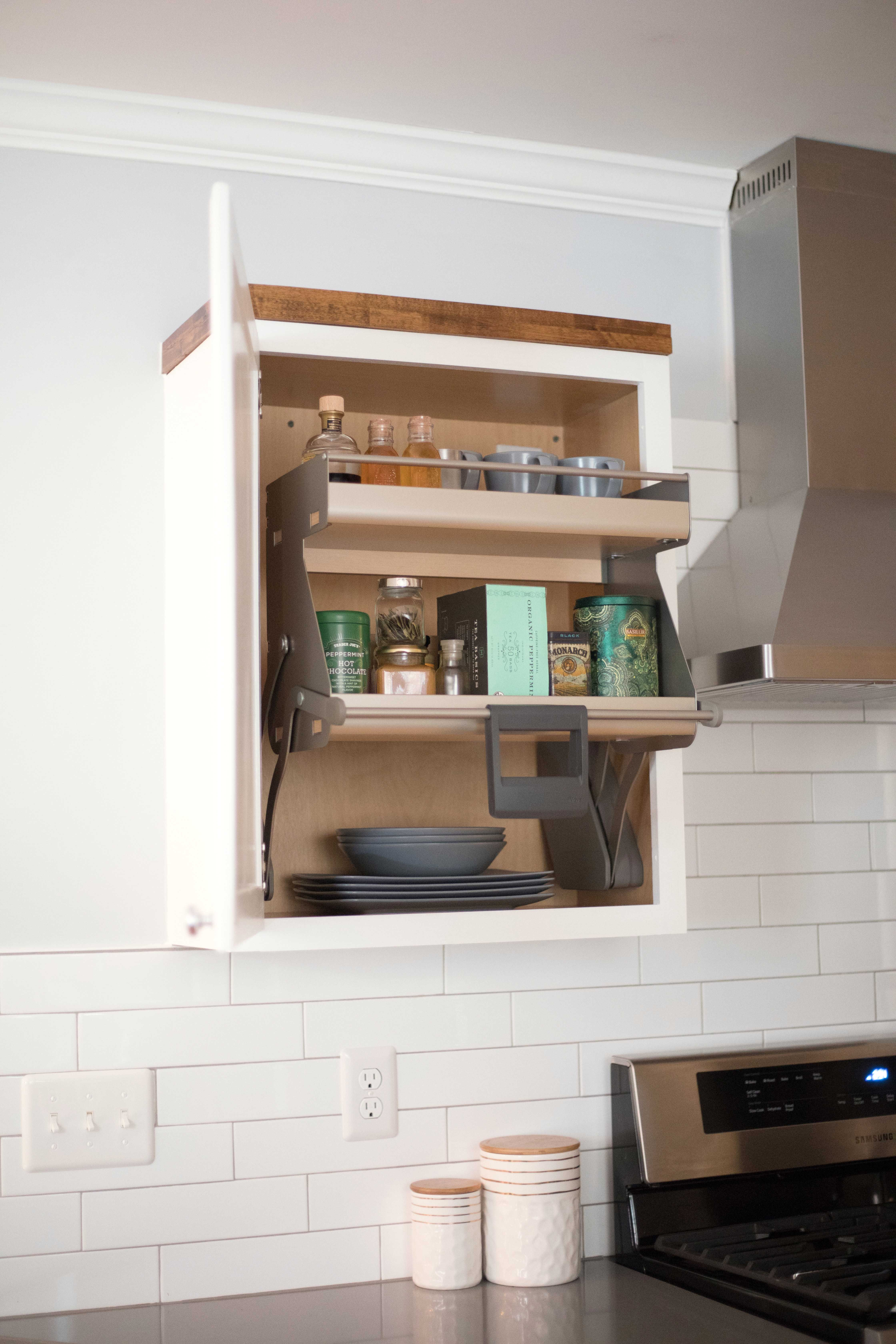 Imove Is Short For Intelligent Movement Bring Your Top Shelf To You For More Info Visit Us At Cleverstorage Com Imove How To Make Kitchen Cabinets Clever Kitchen Storage Kitchen Storage Solutions