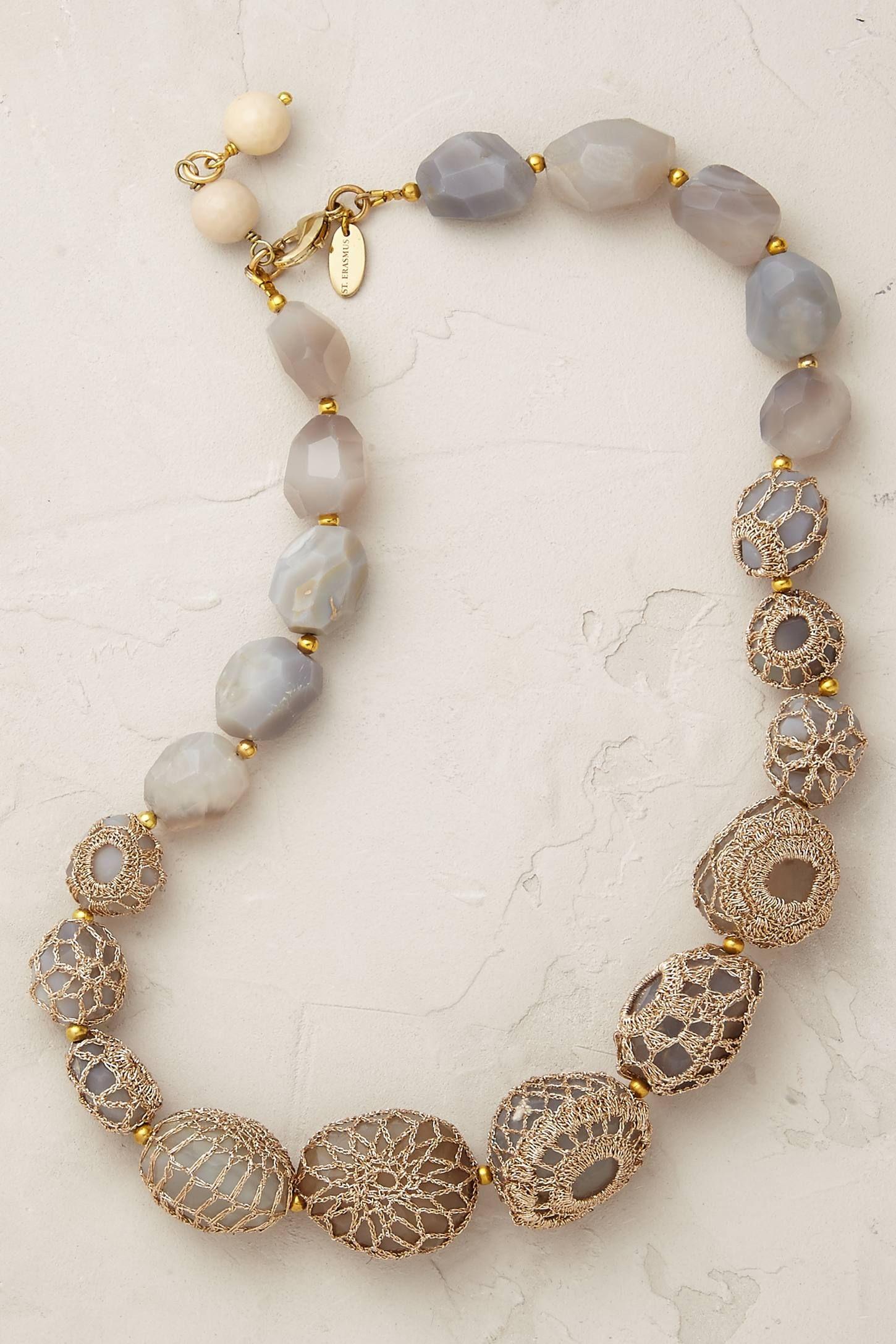 Cassia Crochet Necklace   Jewellery   Pinterest   Collares, Joyerías ...