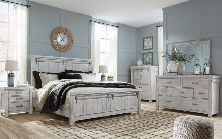 Best Pin By Aaron S Inc On Light And Bright King Bedroom Sets White Paneling Bedroom Furniture Sets 400 x 300