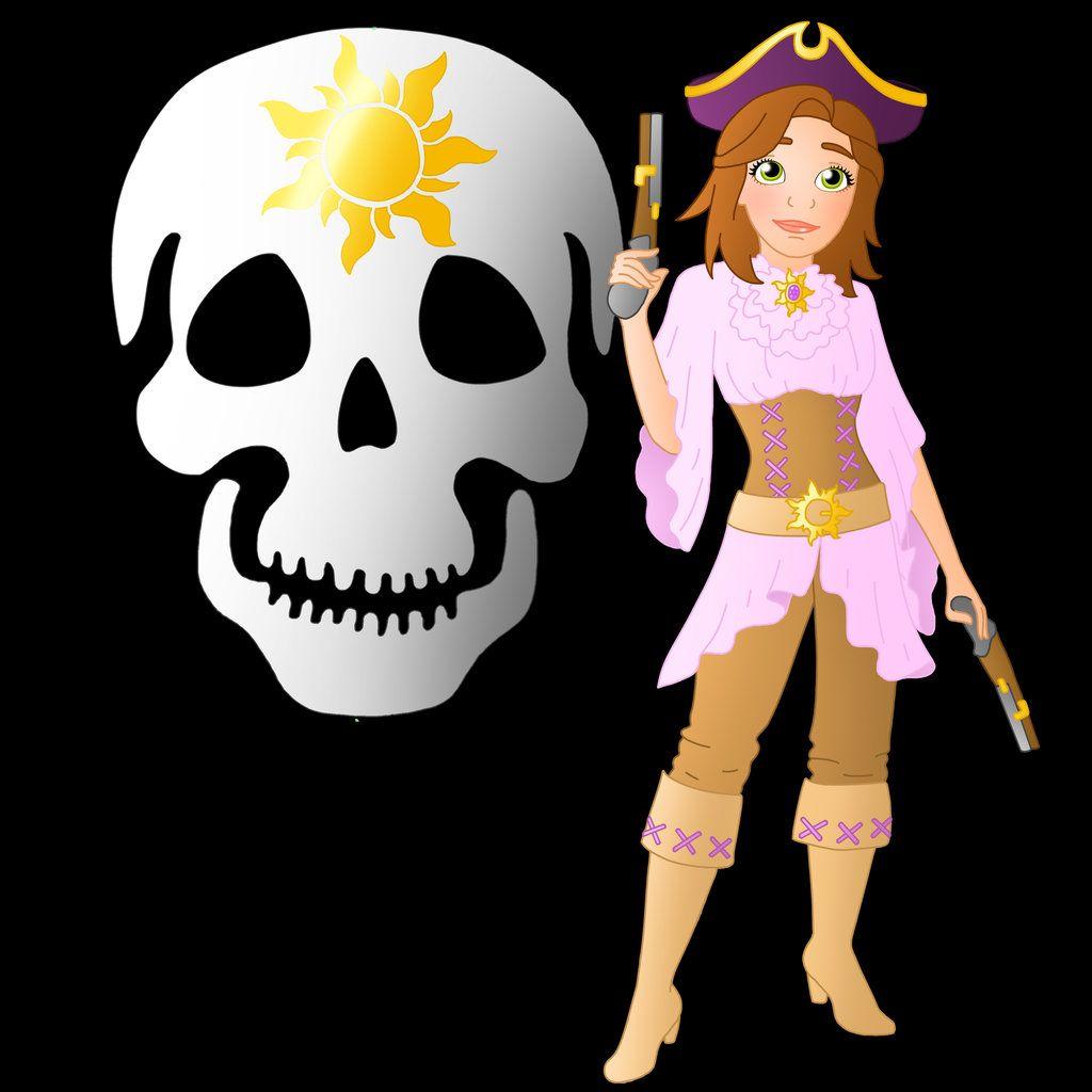 Disney Doppelgangers Pirates Edition: Disney+Pirate:+Rapunzel+by+Willemijn1991.deviantart.com