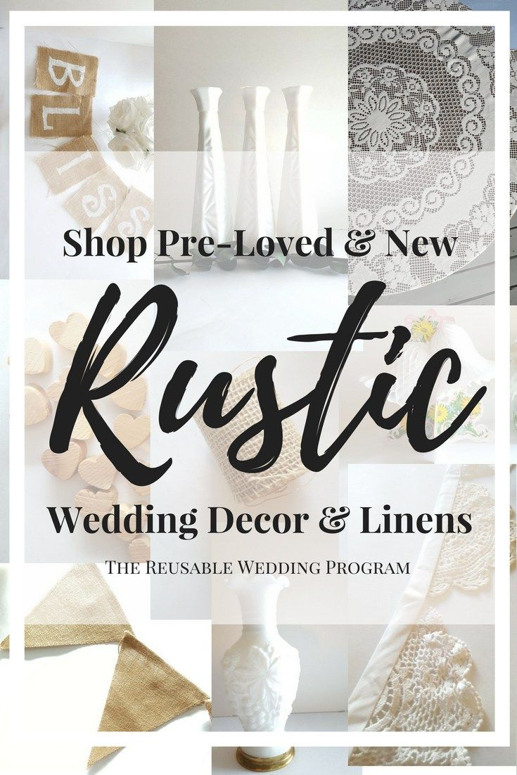 Where To Buy Rustic Wedding Decorations Online New Used The