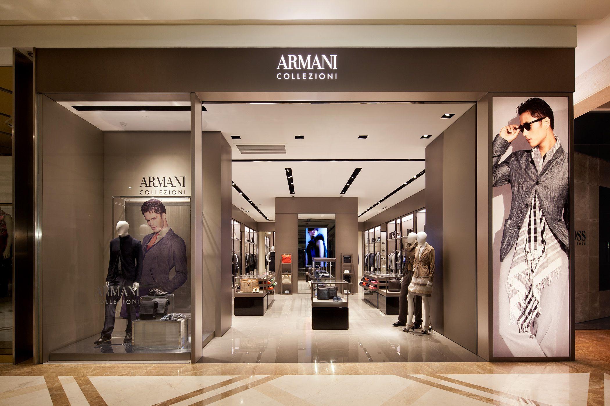 Armani store google search gucci store armani store retail design melbourne