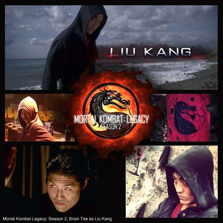 Mortal Kombat Liu Kang Played By Brian Tee Mortal Kombat