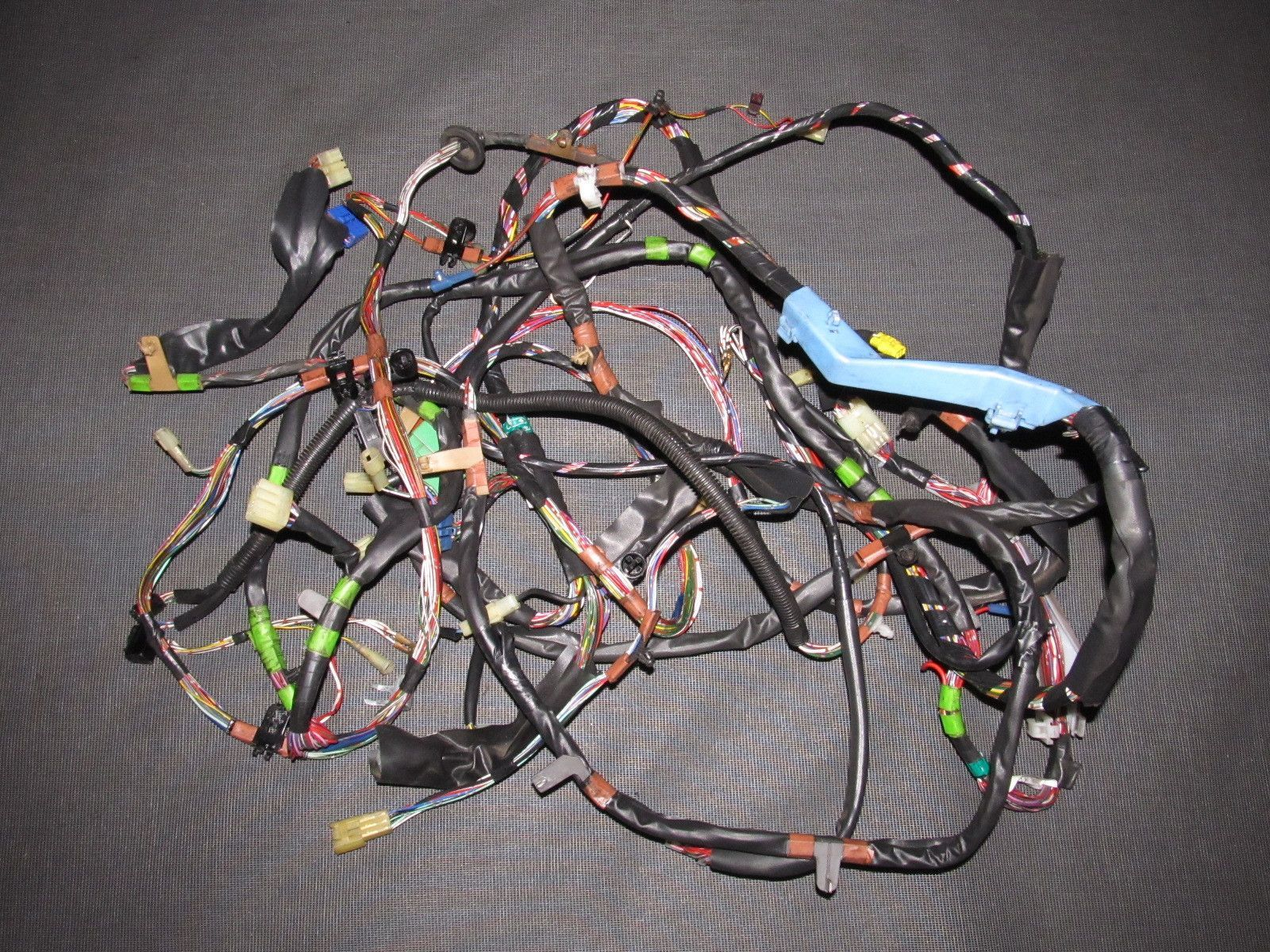 86 87 88 Toyota Supra Oem Tail Light Fuel Pump Wiring Harness Wire