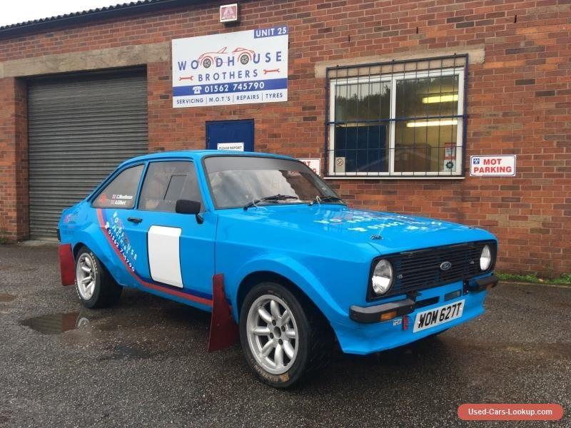 Rally car race car track day mk2 escort ex frank Kelly! #ford ...