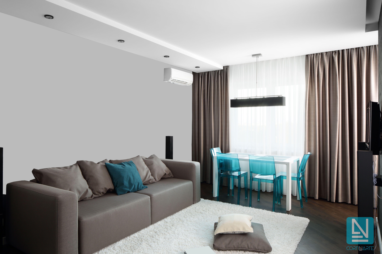 Tendencias en cortinas 2018 para salones tendencias decoraci n salas - D casa decoracion ...