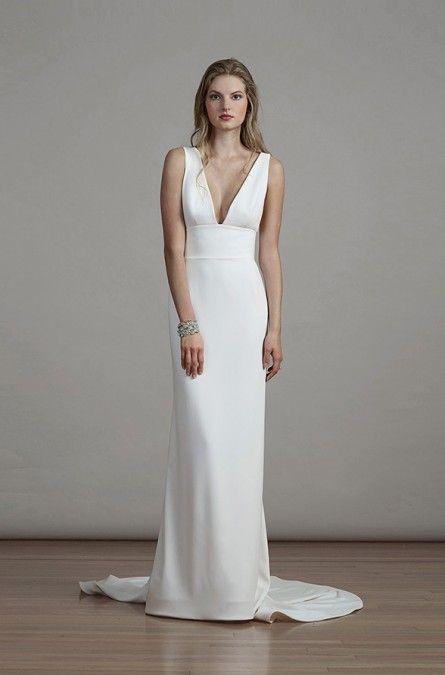 Liancarlo Bridal Spring 2018 Style 6892 Column Wedding Dress Wedding Dress Inspiration Petite Wedding Dress