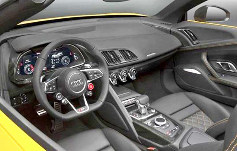 2019 audi r8 specs engine and interior