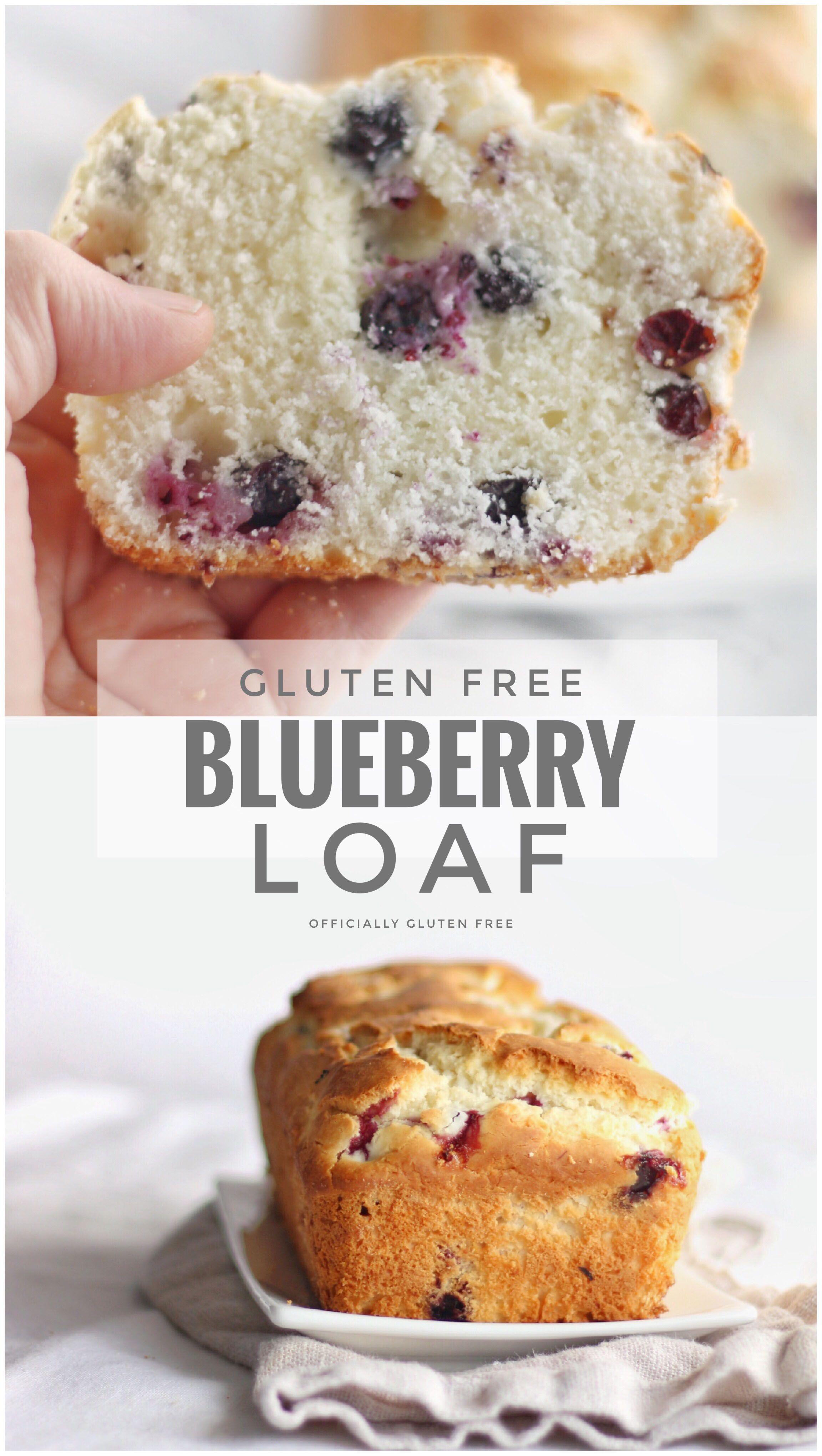 Gluten Free Blueberry Loaf Recipe Sour Cream Blueberry Bread Recipe Blueberry Loaf Gluten Free Blueberry Blueberry Bread