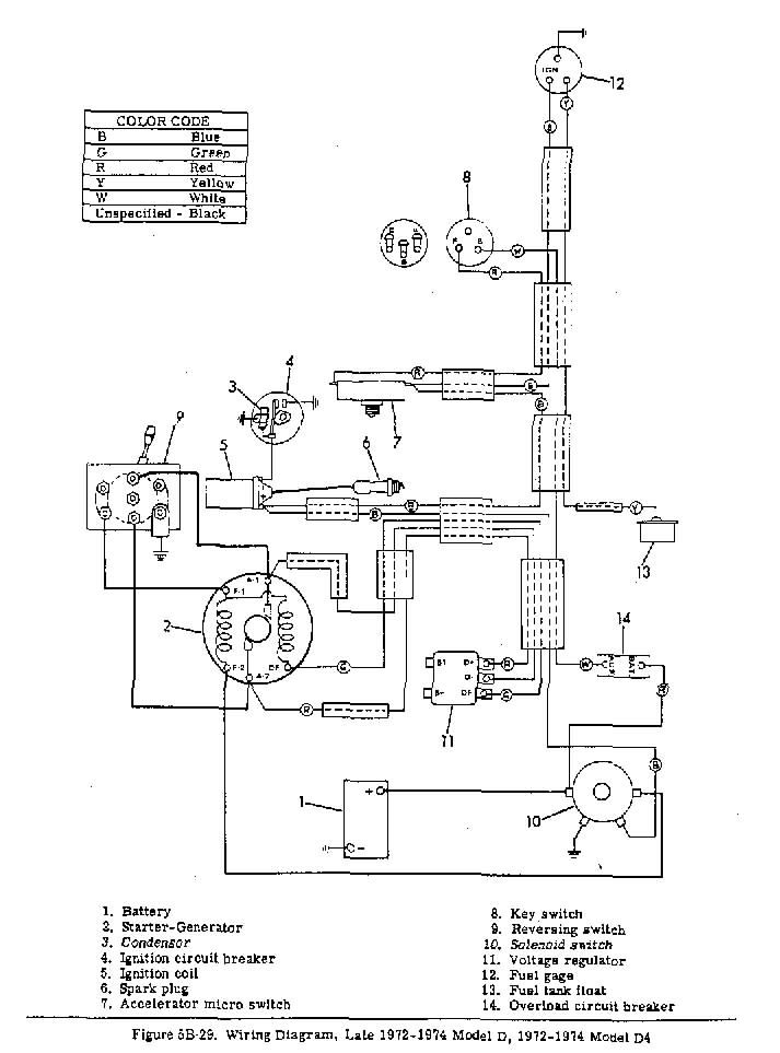 golf cart wiring diagram 1981 85 club car 5 solenoid wiring diagram