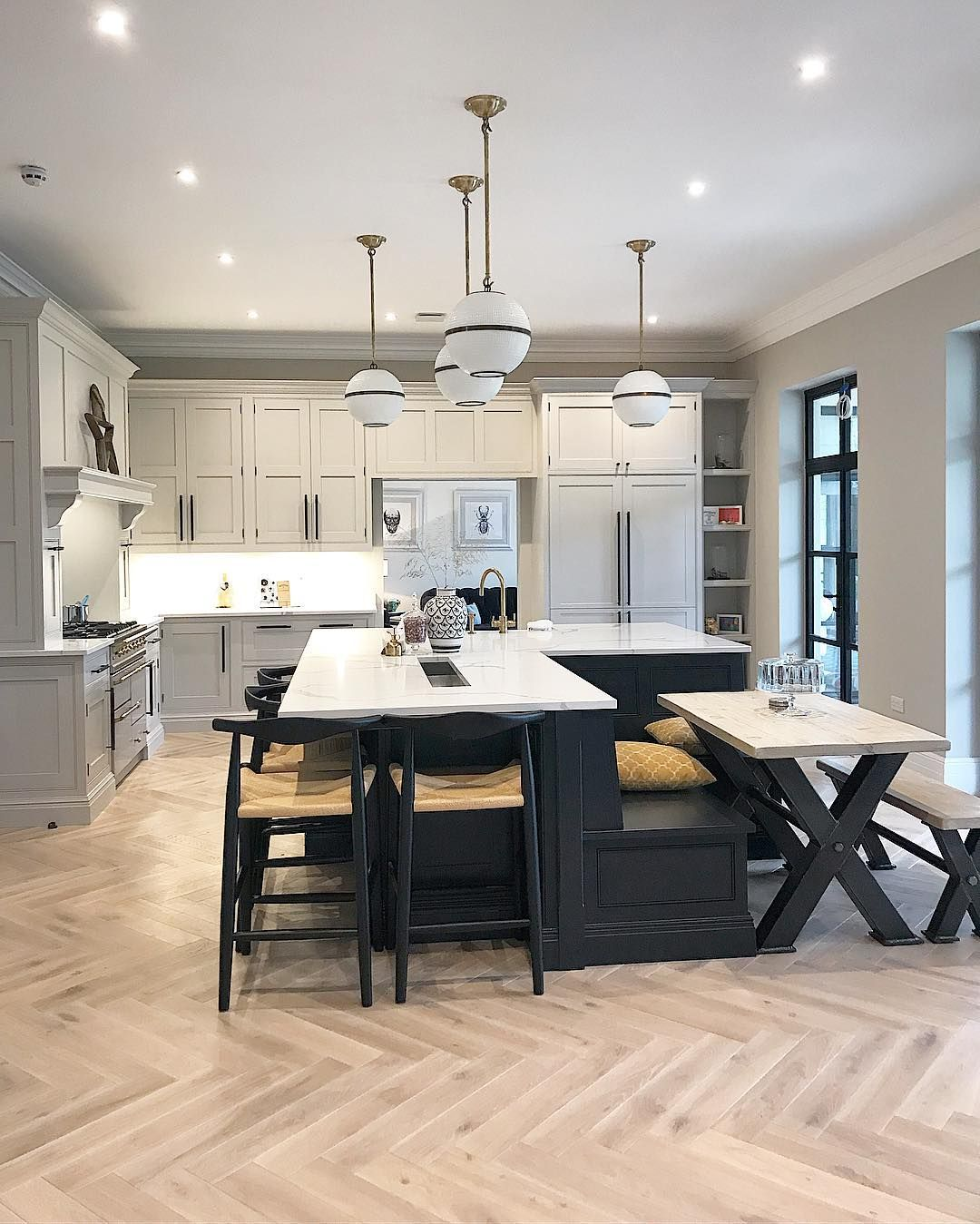 Spectacular Kitchen Family Room Renovation In Leesburg: The House Renovation Instagram Accounts You Need To Be