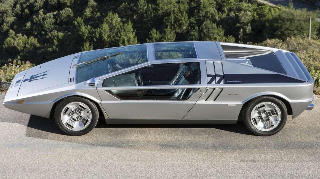 The Maserati Boomerang concept car by Giorgetto Giugiaro, made its ...
