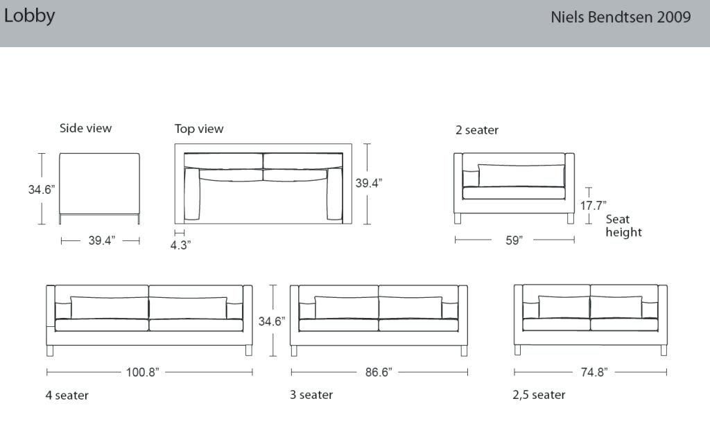Image result for SOFA dimensions | Coffee table height ...