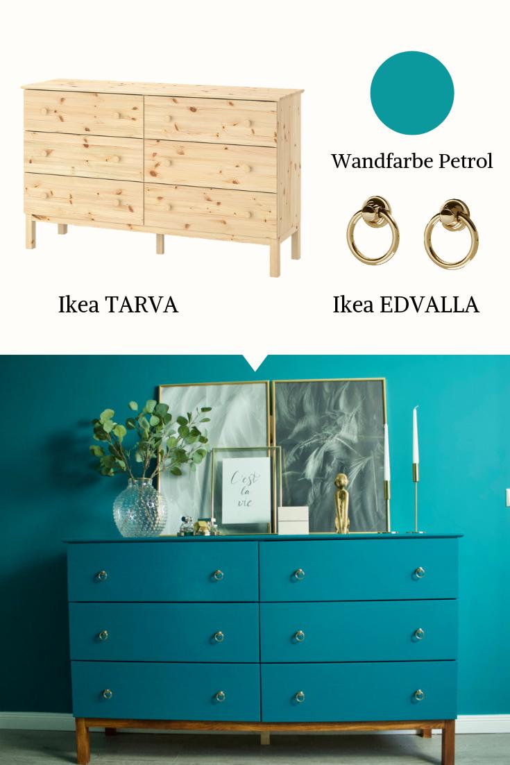 IKEA HACK: Tarva Kommode Makeover