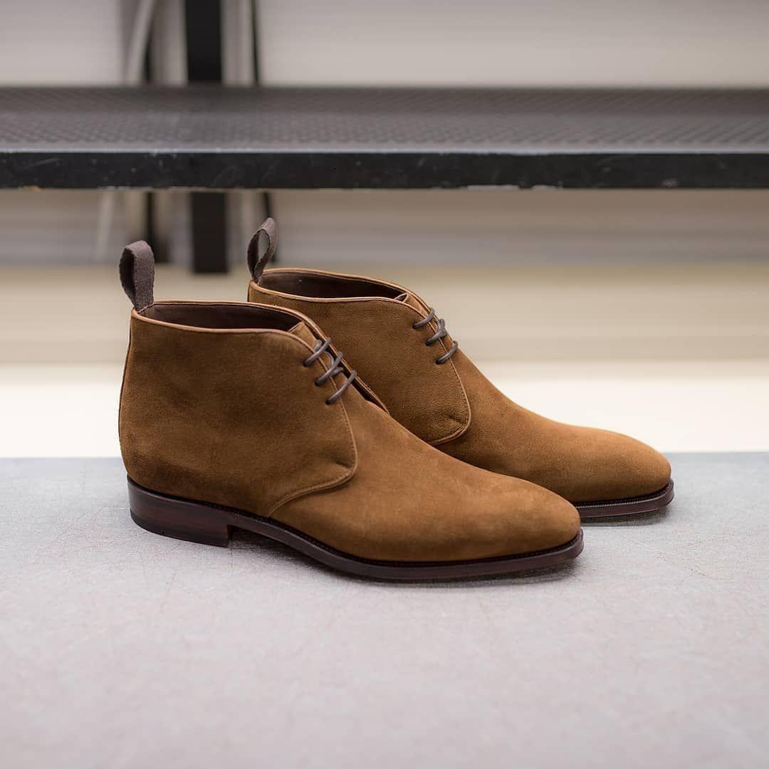 Handmade Men Decent Brown Suede Chukka Boot Chukka Boots Suede Chukka Boots Chukka Boots Men