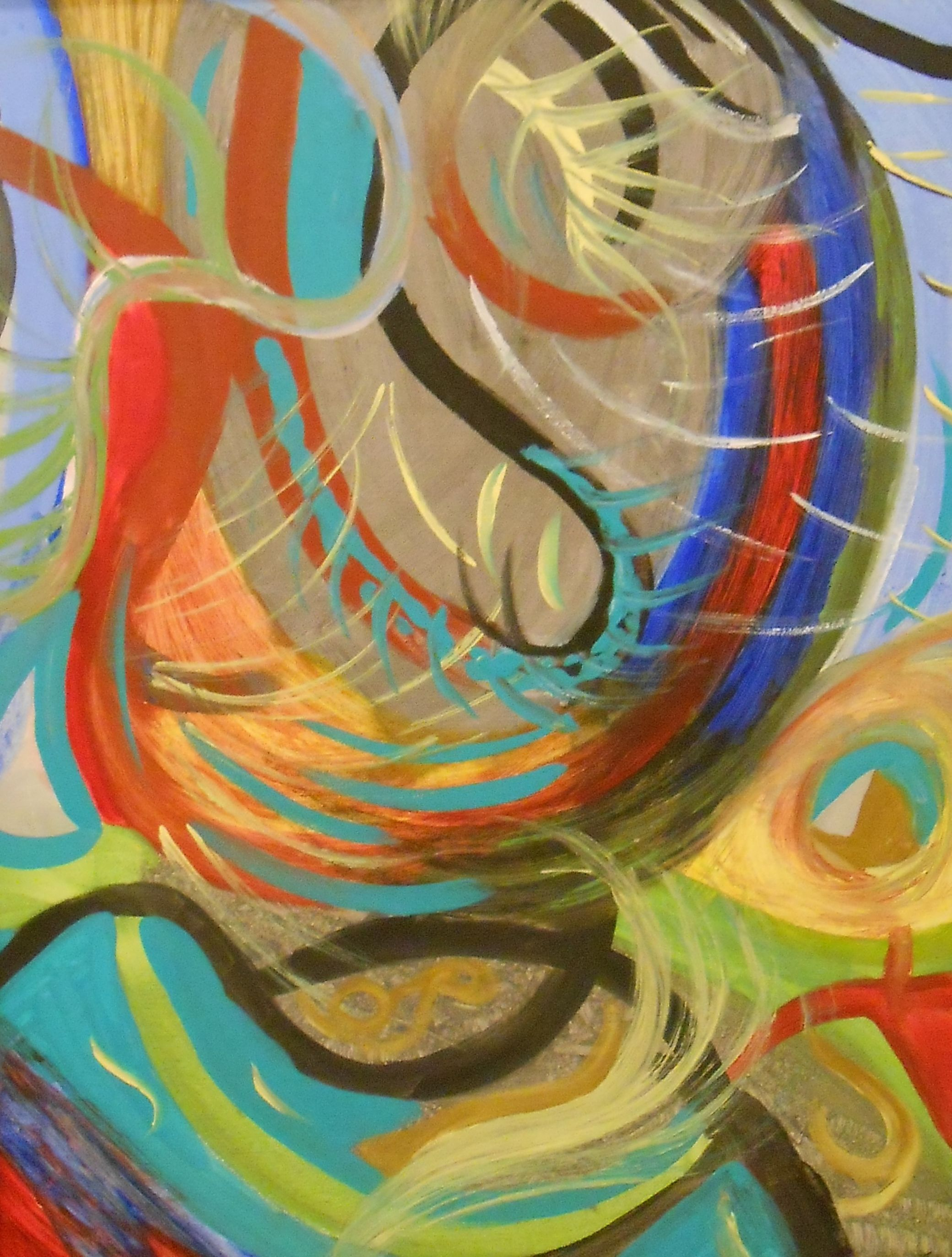 Abstract Art by Julie Crisan.  www.artbyjuliec.com.