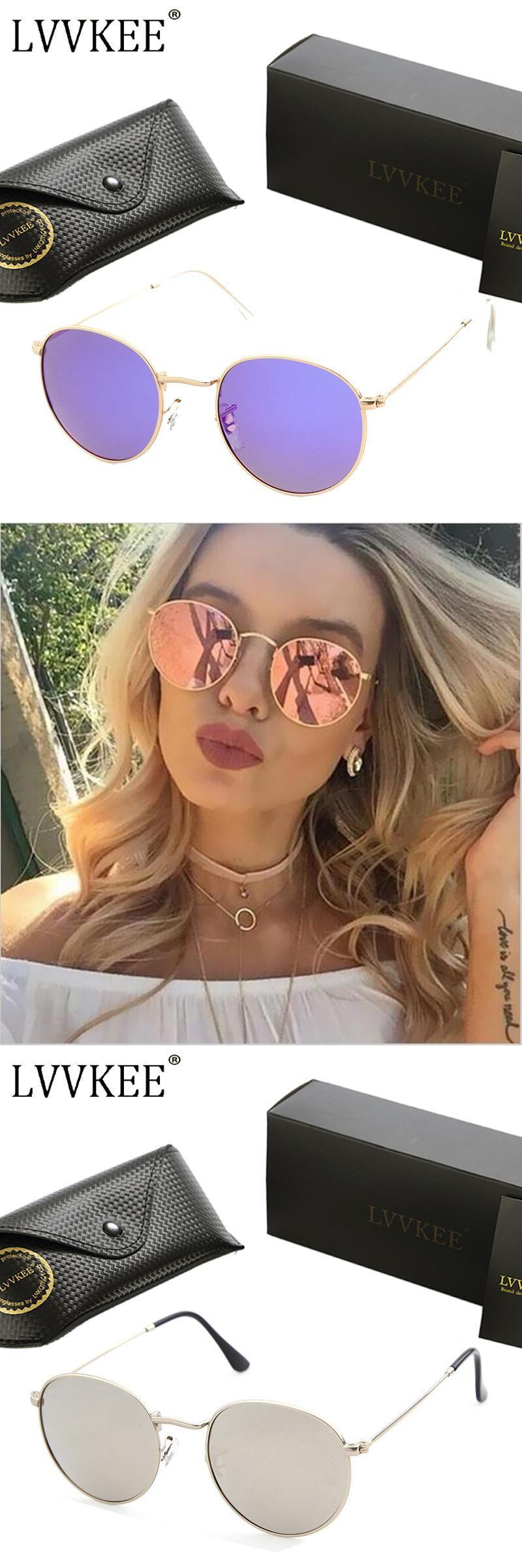7398d21852 2017 Hot sale Classic brand Female Round Polarized Sunglasses for Small Face  Sun glasses Women men