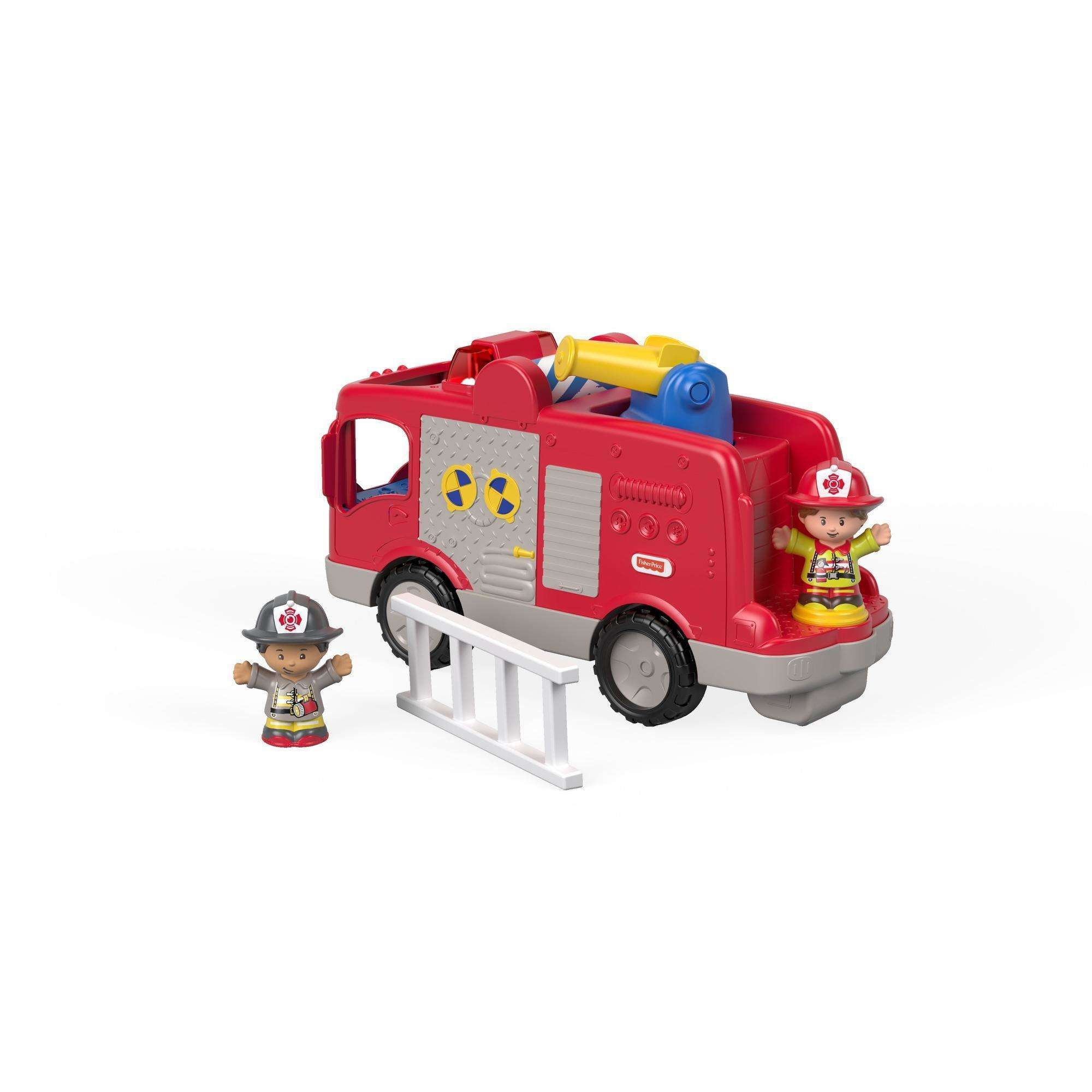 Little People Helping Others Fire Truck with Sounds, Songs