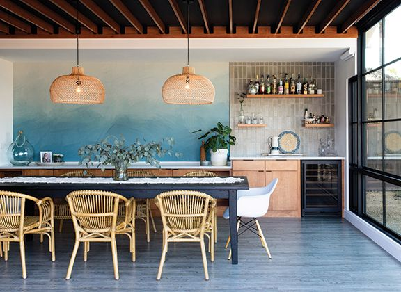 Summer Style!! Wonderful Beach Ocean Style Kitchen And Dining Room! San  Diego Home U0026 Garden Magazine   Home Design, Gardening And Lifestyle In The U2026