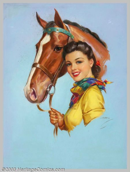 Cowgirl Pin-Up