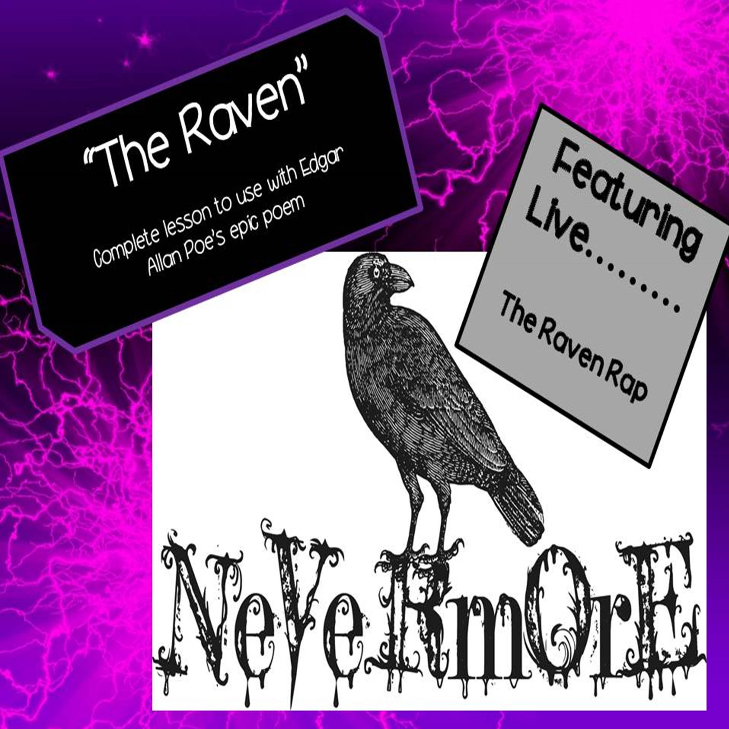 Looking For Something Unique To Use In Your Classroom Teach Edgar Allan Poe S The Raven Here I A C Homeschool Language Art Middle School Literature Poem Annotated