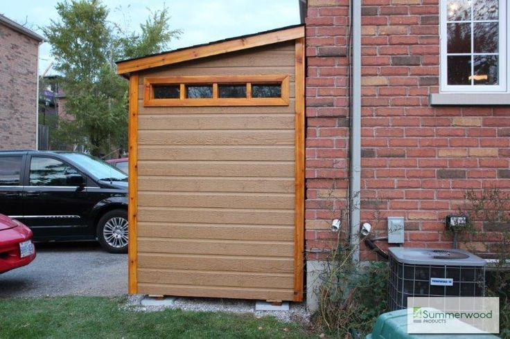 Leaning shed lean to shed garden shed shed against house backyard shed sheds pinterest - Garden sheds with lean to ...