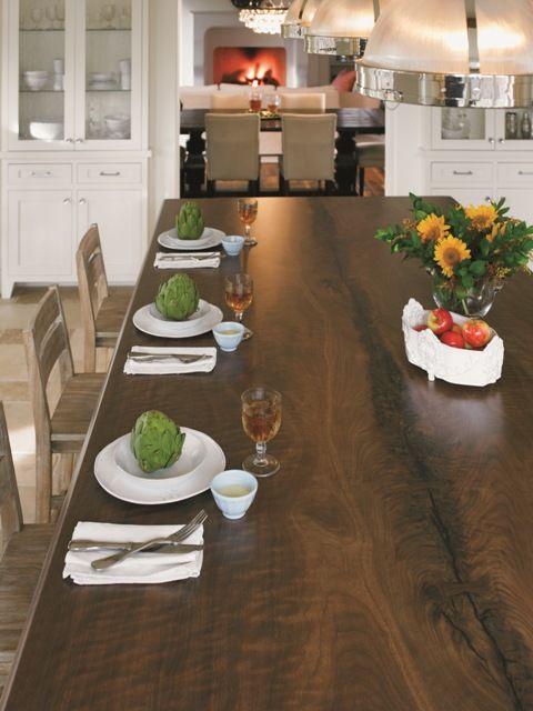 Black Walnut Timber 180fx® #Formica #laminate #wood #countertop - küchentisch aus arbeitsplatte