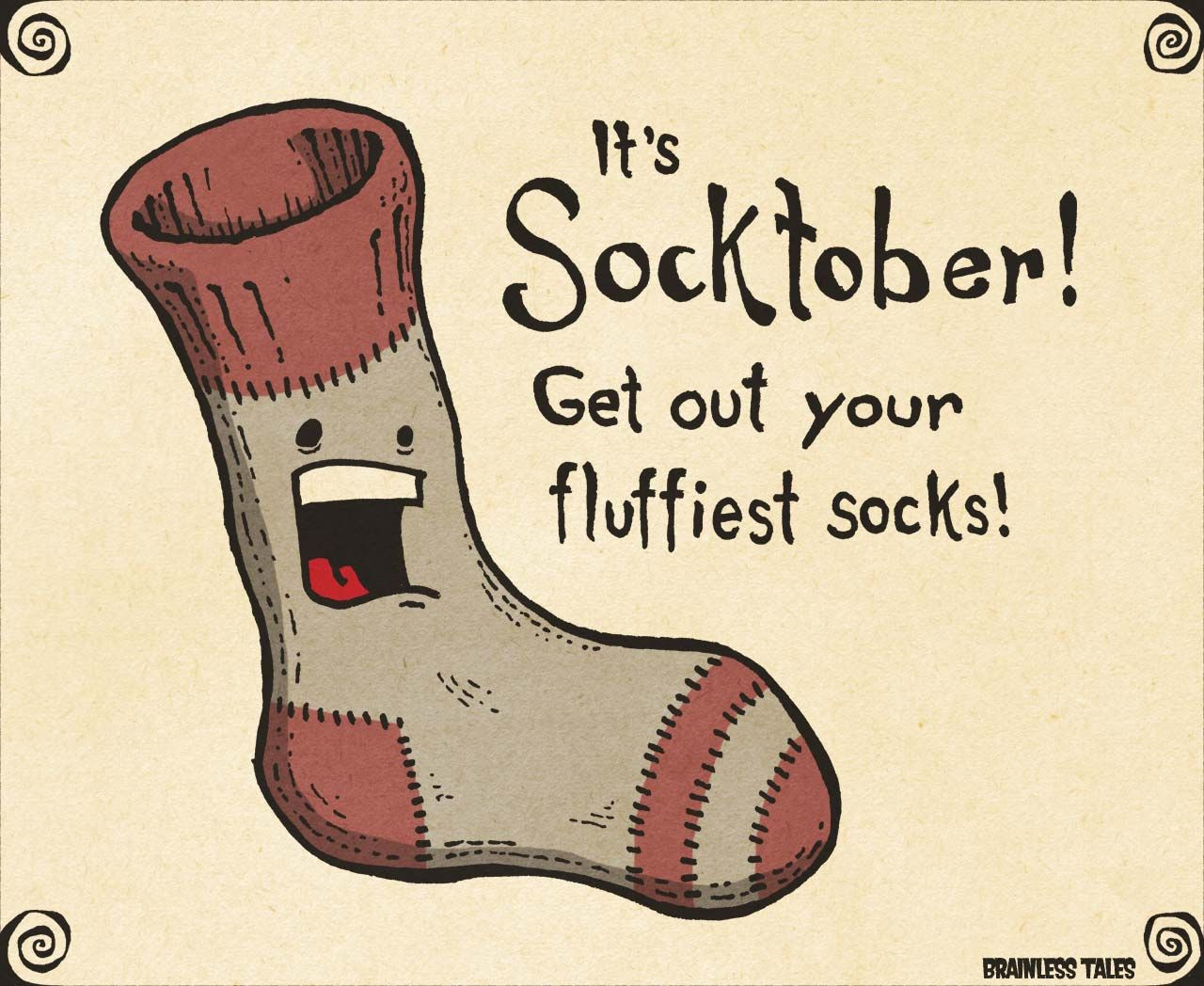 Socktober School campaign posters, Kindness projects