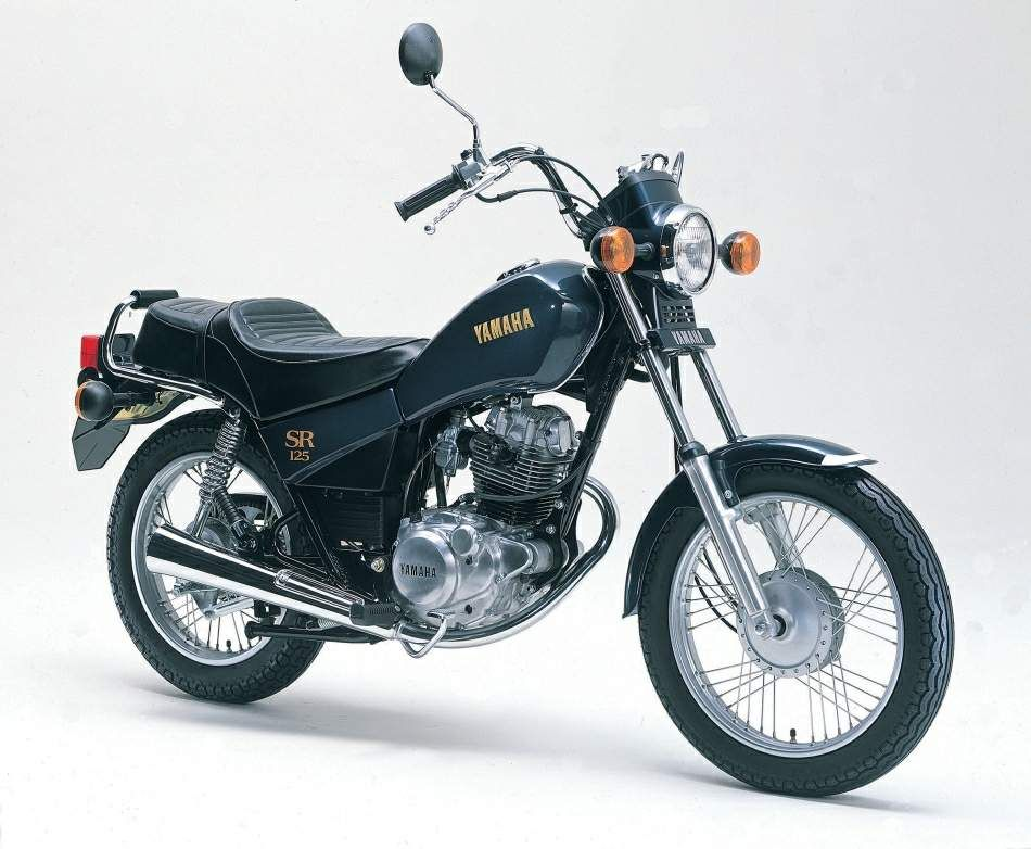 sr 125 1981 yamaha pinterest yamaha motorbikes. Black Bedroom Furniture Sets. Home Design Ideas