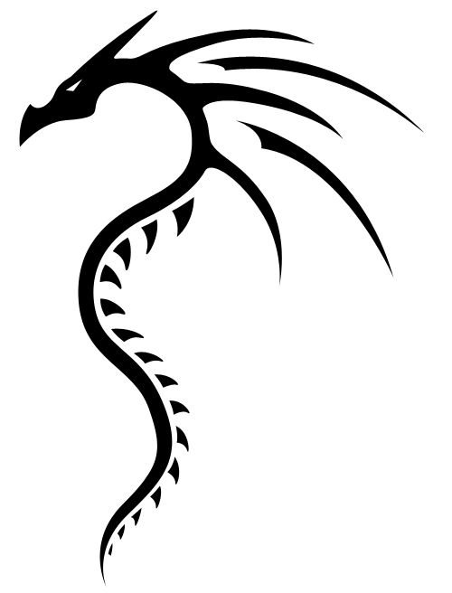 Tribal Dragon 2 Dragon Tattoo Simple Tribal Dragon Tattoos Dragon Tattoo Drawing