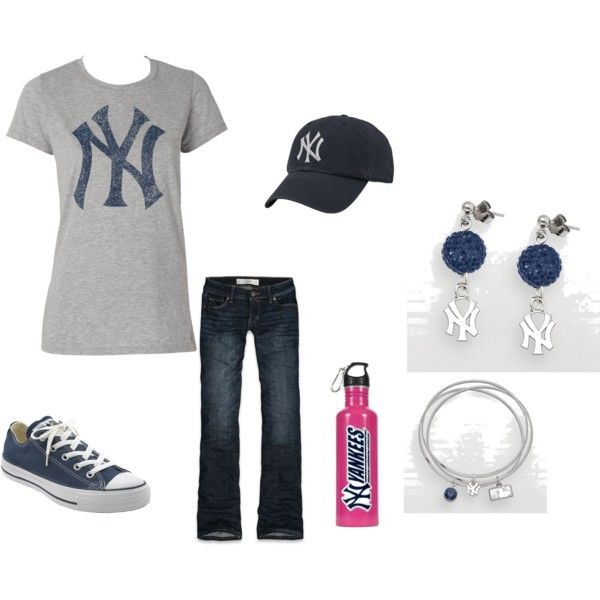 YANKEES!! | Fashion Fanatic | Pinterest | Yankees outfit