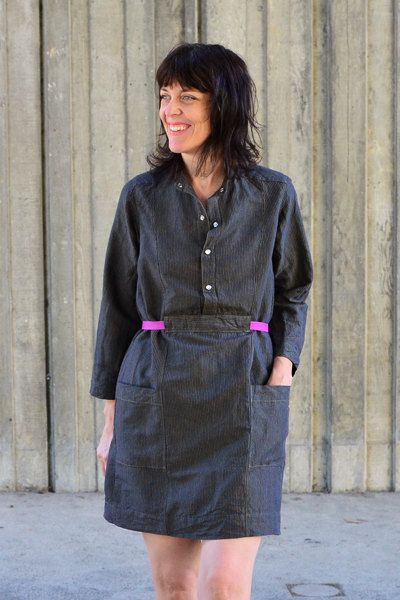 Linen Shirtwaist Dress