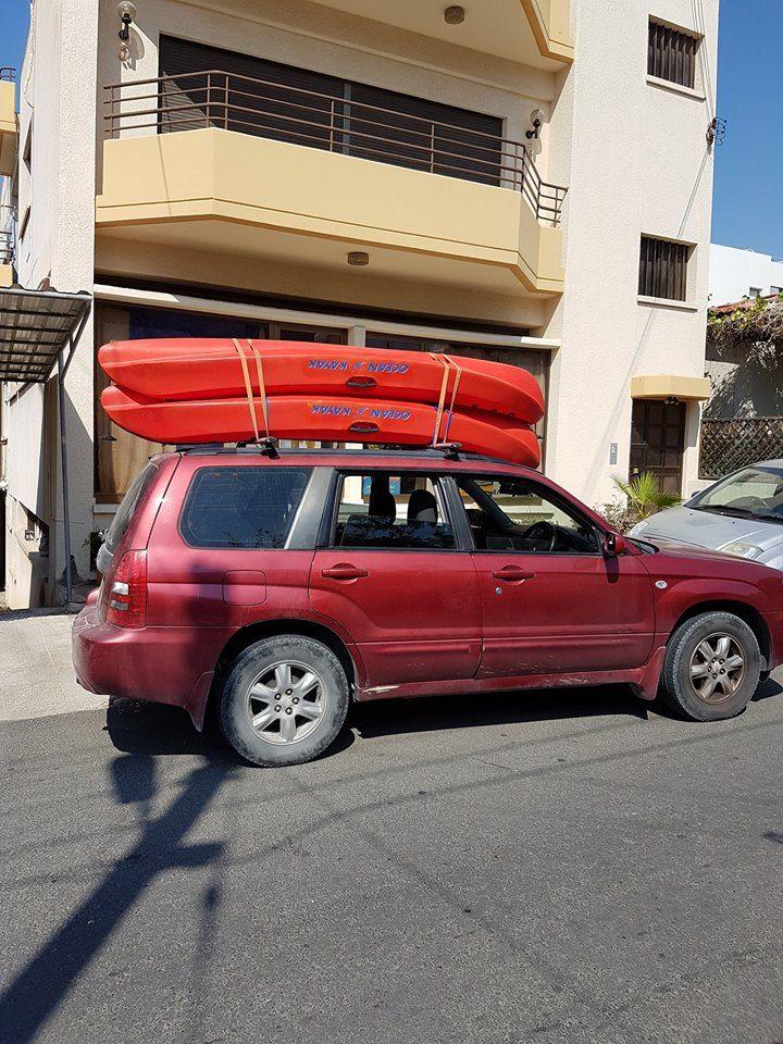 Loading Two Kayaks Kayaking Kayak Fishing Suv Car