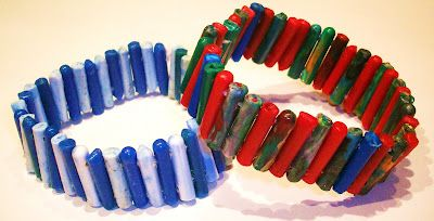 Jewlery made from recycled plastic bottles - by FanPlastic