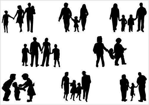 silhouette mensch zum ausmalen  kinder ausmalbilder