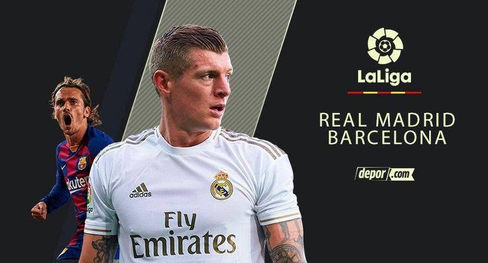 REAL MADRID VS BARCELONA EN VIVO HOY LA LIGA 2020 en