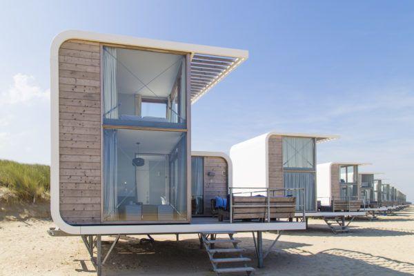 Strandhaus in Holland: Die schönsten Strandhäuser für Glamping direkt am Strand