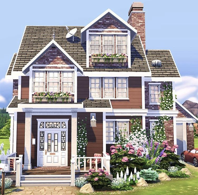 Modern Zen 5 The Sims 4