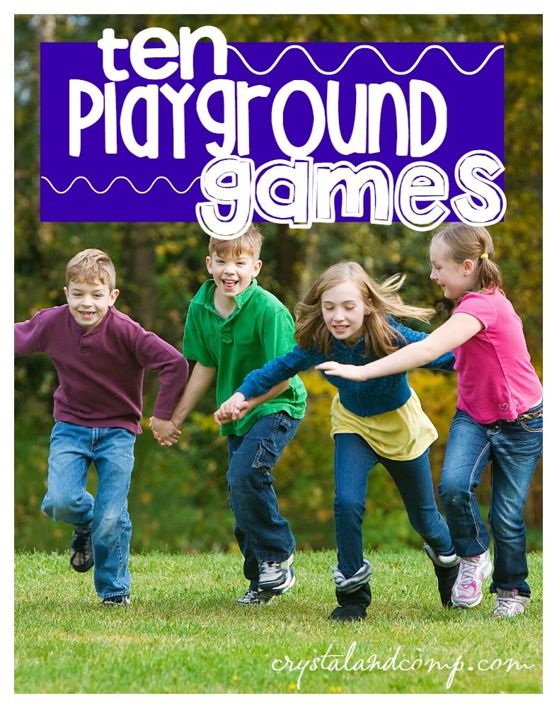 10 Playground For Kids Relay
