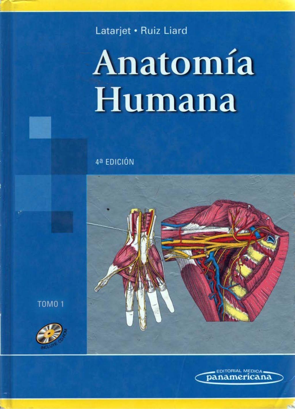ANATOMIA HUMANA LATARJET TOMO I (franja morada odontologia unlp) by ...