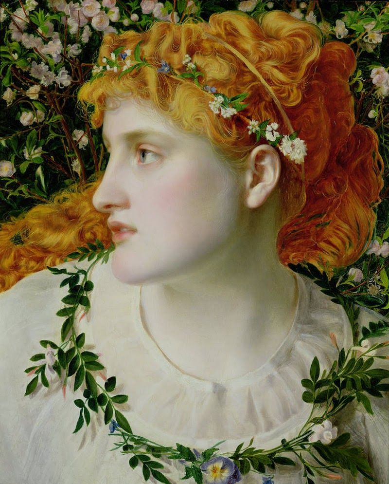 Anthony Frederick Augustus Sandys (born Antonio Frederic Augustus Sands), (1829 – 1904), one of the English Pre-Raphaelites