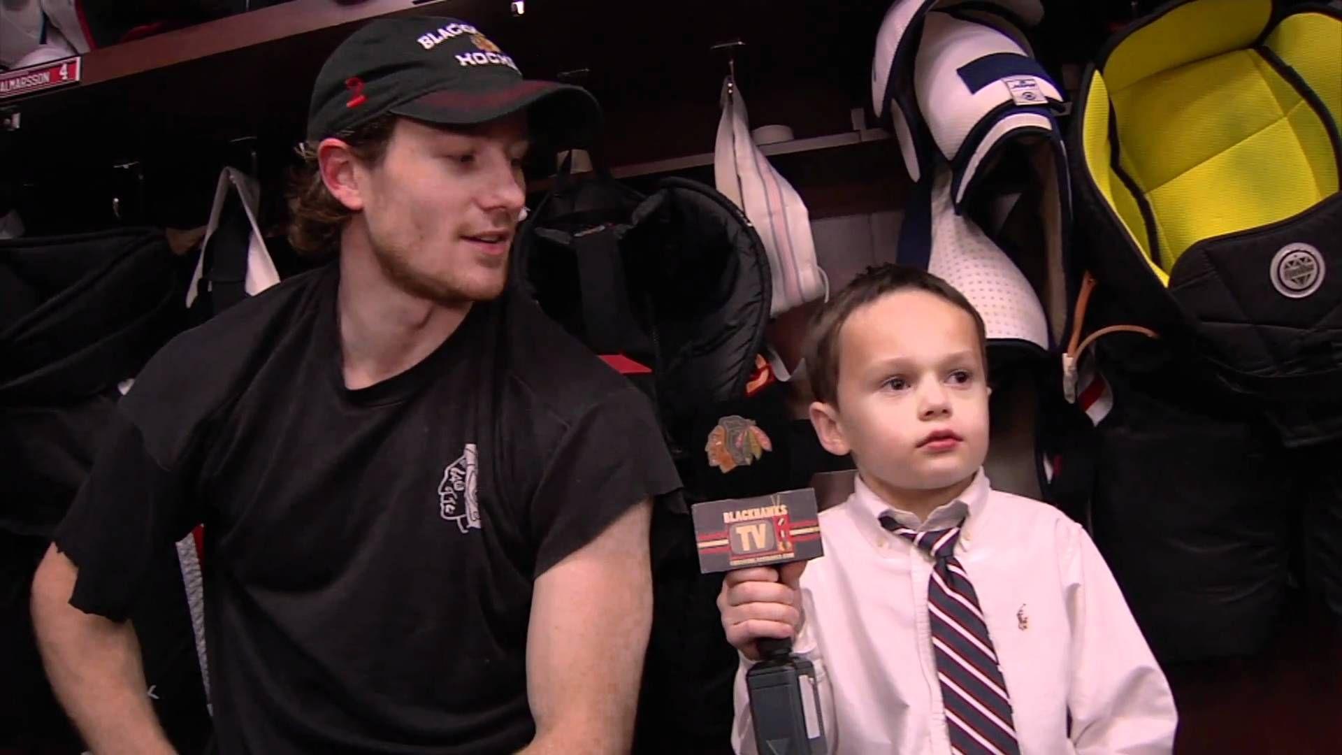 Meet Joey, The Blackhawks Junior Reporter Blackhawks
