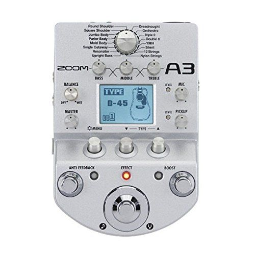 Zoom A3 Preamp And Effects For Acoustic Guitar Want Additional Info Click On The Image Acoustic Guitar Guitar Effects Guitar Effects Pedals