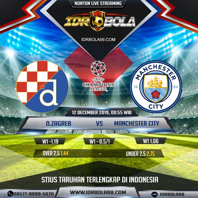 Prediksi Bola Dinamo Zagreb Vs Manchester City 12 Desember 2019 12 Desember Zagreb Manchester City