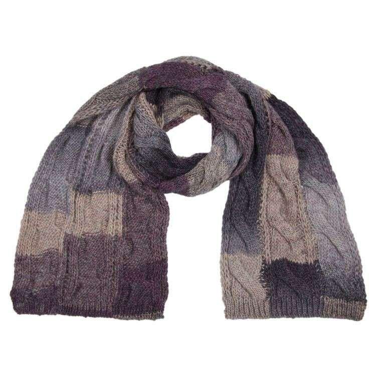 Photo of Lavori a maglia: sciarpe (Foto) | Tempo Libero PourFemme