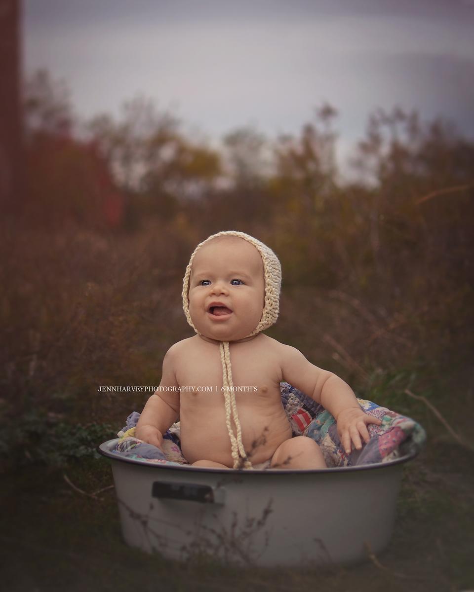 Photography 6 month old | Jenn Harvey Photography | Pinterest ...