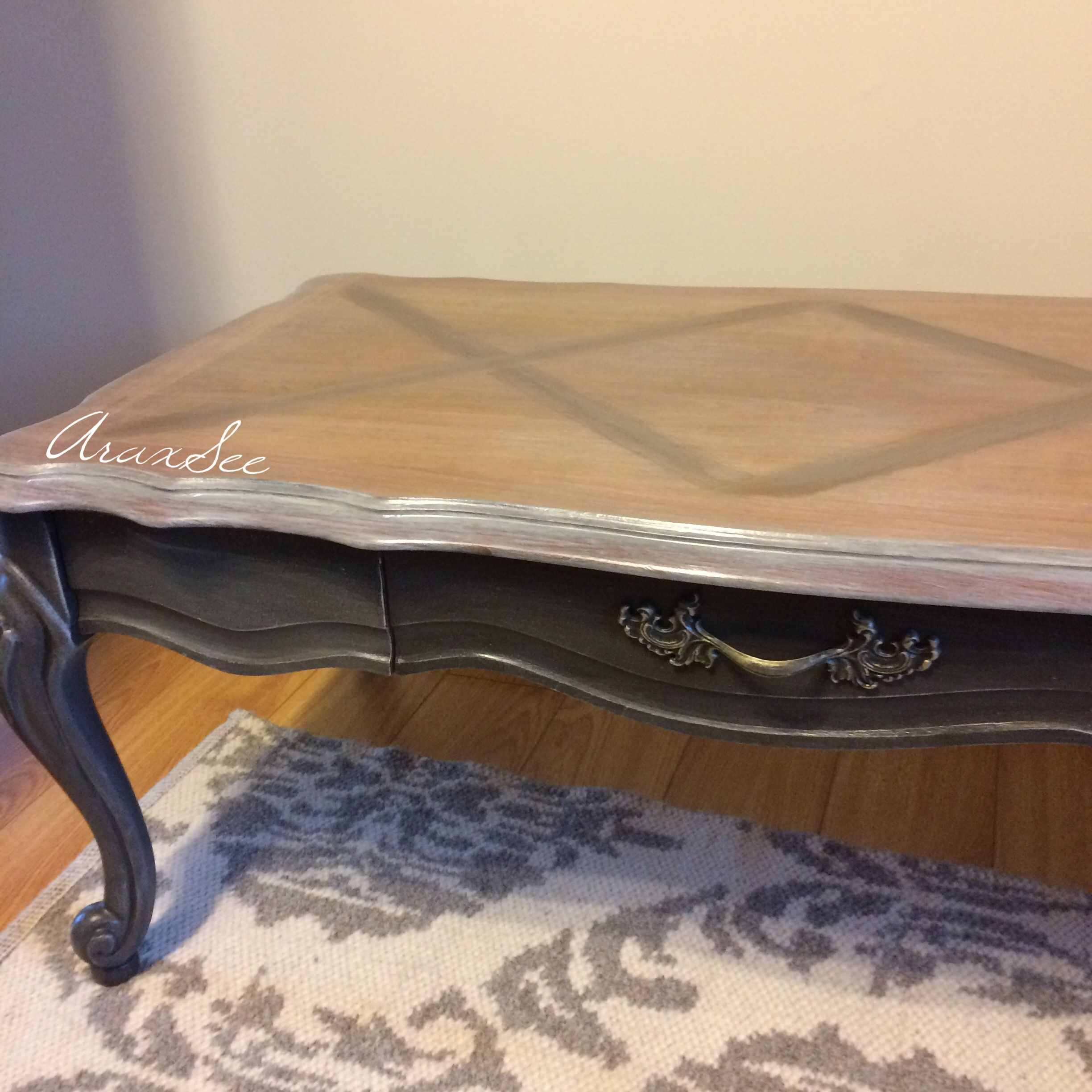 Available French Provincial Coffee Table