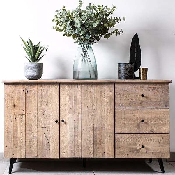 Chelwood Nordic Reclaimed Wood Sideboard In 2020 Large Sideboard