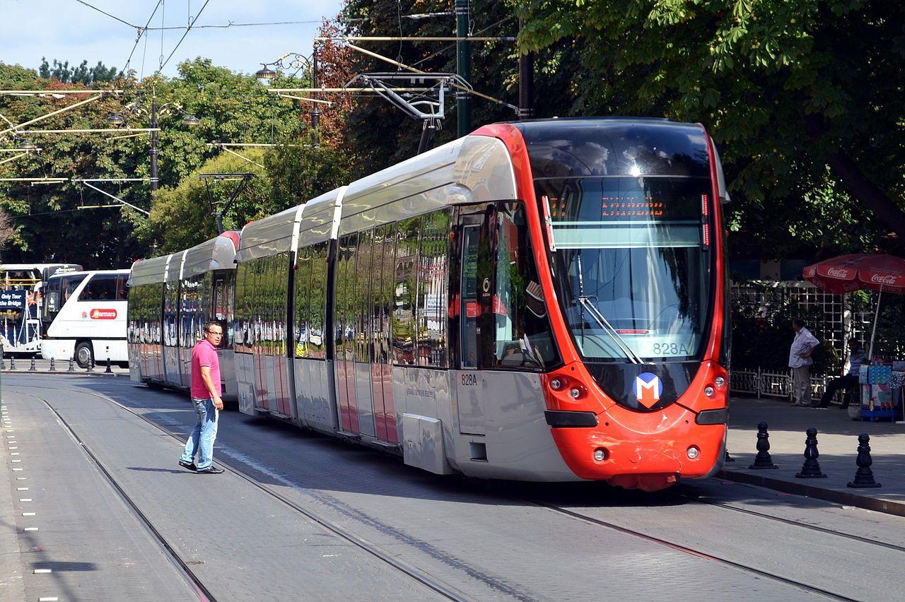 Istanbul T1 Line Alstom Citadis Tram Istanbul Wikipedia The
